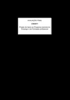 CVE/071 - Projet d'appui au Programme national d'Emploi et de Formation professionnelle