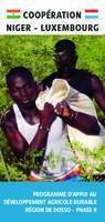 Dépliant NIG/025 - Programme d'Appui au Développement agricole durable - Région de Dosso II
